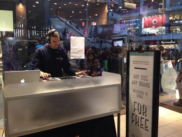 Corporate Event DJ Birmingham / In Store DJ In Birmingham