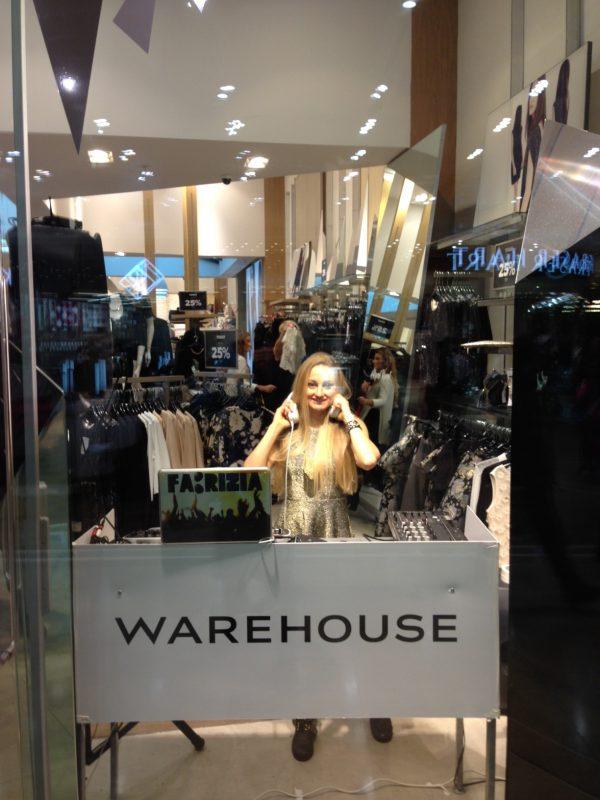 Female In Store DJ